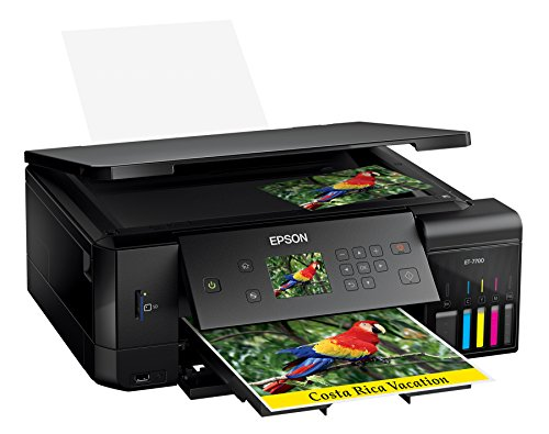 Epson Expression Premium ET-7700 EcoTank Wireless 5-Color All-in-One Supertank Printer with Scanner, Copier and Ethernet by Epson (Image #3)