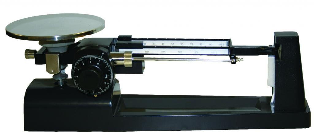 2610 g Capacity 1188P92EA Walter Products B-350-W-O Economy Triple Beam Dial Balance with Weight Set