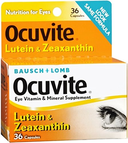 Bausch Lomb Ocuvite Lutein Capsules product image