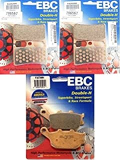 EBC HH Front Brake Pads For Yamaha 2004 YZF-R6 FA252HH