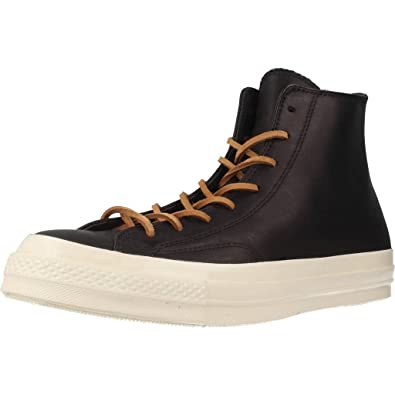 41b8a0ff5473 Converse - Sneakers - Men - Hi Black Leather 70 s Chuck for Men - 45 ...