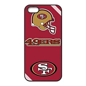 San Francisco 49ers Design Solid Hard Customized Cover Case for iPhone 5 5s 5s-linda884