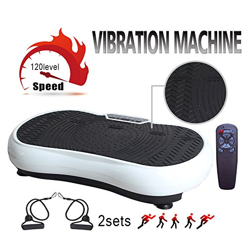 PROMOTOR Home Vibration Fitness Equipment Gym Machine Anti-Slip Fit Massage Workout Trainer by PROMOTOR