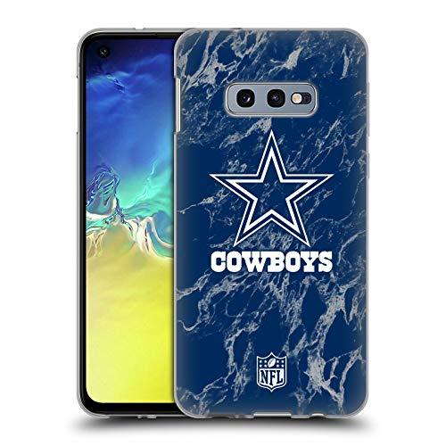 Case Nfl Dallas Cowboys (Official NFL Coloured Marble 2018/19 Dallas Cowboys Logo Soft Gel Case for Samsung Galaxy S10e)