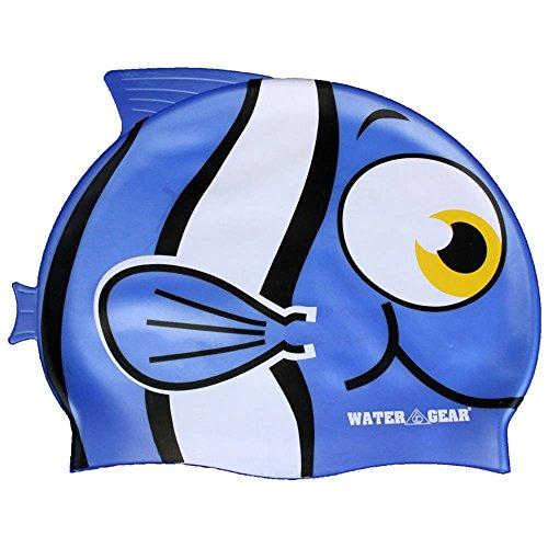 (Water Gear Critter Cap, Blue Fish)
