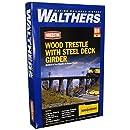 Walthers Cornerstone Series Kit HO Scale Trestle w/Steel Deck Girder Bridge