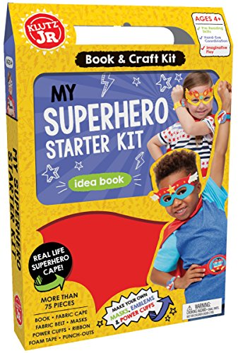 Klutz Jr. My Superhero Starter Kit -