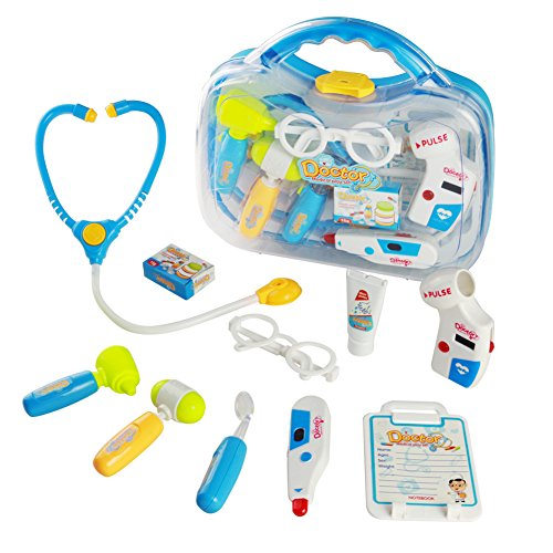 Doctor Kit Pretend Play Medical Kits for Kids with Carrycase Role Play Toys for Kids over 3 Years Old,Random delivery