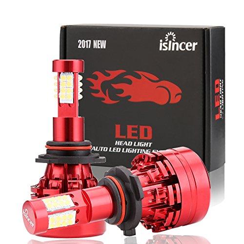 9006 LED Headlight Bulb HB4 LED Bulb Conversion Kit 40W 8000LM for Each 6000K All in One White Light Power 12v