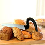Brix Aergo Saw-Style Bread Knife, 8-Inch 5 <p>Brix Aergo Saw-Style Bread Knife slices with precise control and less wrist strain. The curved soft-grip, non-slip handle keeps your hand elevated for comfortable control while the stainless steel blade slices all the way through the loaf. It gently slices homemade breads when cut warm out of the oven and easily slices through crustier bakery and artisan breads, all of which can be difficult to cut clean, uniform pieces. The Aergo Saw-Style Bread Knife will quickly become one of your go-to kitchen tools. Easy to clean - simply pop it in the dishwasher. Brix is a family-owned and operated company based in Denmark. The two brothers, Christian Brix-Hansen (Harvard MBA, Civil Economist) and Joachim Brix-Hansen (Civil Economist) design their award-winning products as simple solutions for the culinary market. Aergo Saw-Style Bread Knife easily slices loaves of bread wit less effort preventing wrist strain; 8-inch stainless steel blade Curved soft-grip; non-slip handle is ergonomically designed to reduce wrist strain Serrated knife easily and uniformly slices delicate warm homemade breads or crusty artisan breads Great for slicing all varieties of breads: French; Italian; Sourdough; Irish soda bread; Kaiser rolls; bagels; baguettes; and more Made in Denmark; dishwasher safe for easy cleanup</p>