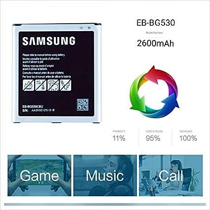 The Black Store Orignal EB-BG530CBN Battery for Samsung