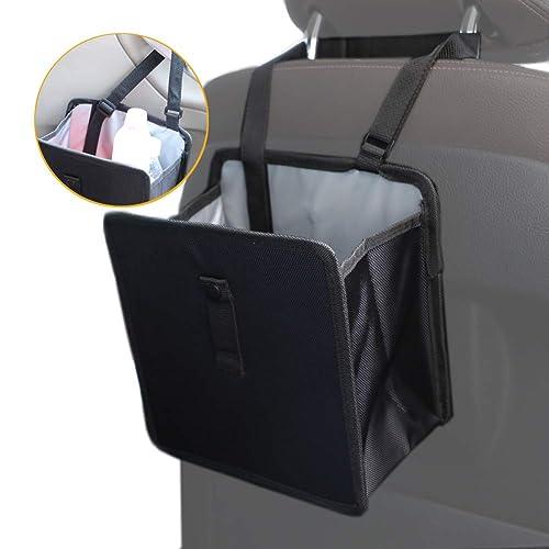 Hanging Car Trash Bag Can Premium Waterproof Litter Garbage Bag Organizer