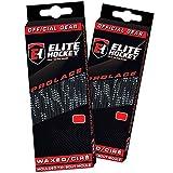Elite Hockey Prolace Waxed Hockey Skate Laces — SET of 2 Pairs