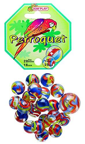 Kim'Play - 「オウム」サマーゲーム - 20 Marbles + 1 Large Marble。 B001C6JLAG