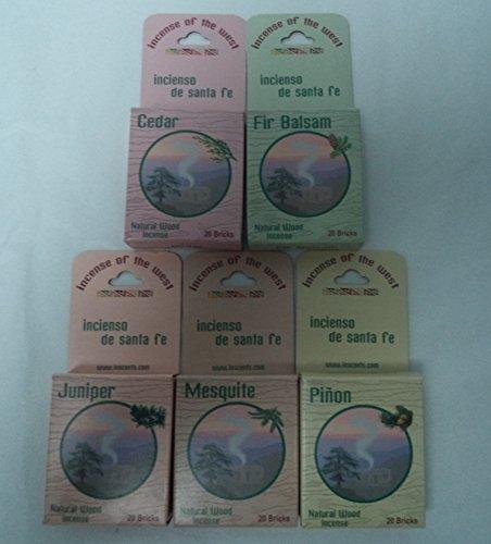 Inciensio Sante Fe: Best Seller Assorted 100 Incense