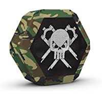 Camo MTB Speaker - Boombotix Boombot REX Wireless Ultraportable Weatherproof Bluetooth Speaker for iPhone or Android