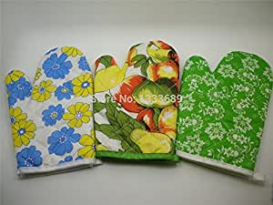 Cooking glove Kitchen tool Microwave Oven Mitts Glove Furnace glove protective Freeshipping