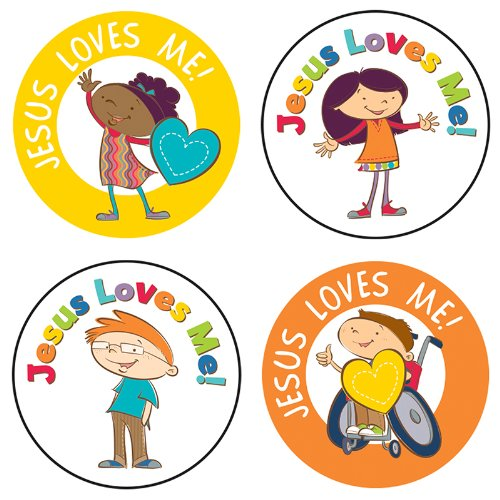 Jesus Loves Me! Sticker Pack - Of Are What America Mall Stores At