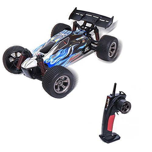 RC Car,KINGBOT XLH9117 1/12 Scale 2.4Ghz 28KM/h High Speed RC Hobby Vehicle Electric Radio Remote Control Off Road Racing Trucks-Blue