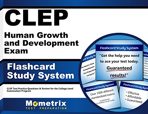 CLEP Human Growth and Development Exam Flashcard Study System: CLEP Test Practice Questions & Review for the College Level Examination Program (Cards)
