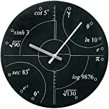 Exclusive Irrational Numbers Math Formulas Analog Wall Clock