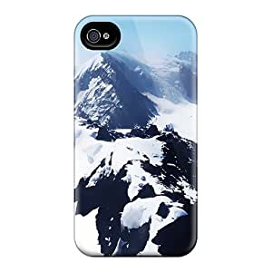 Awesome Design Snow White Mountains Hard Case Cover For Iphone 5/5s