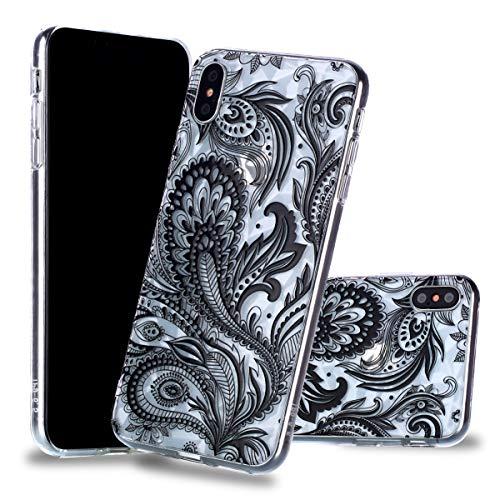 6 inch dans 5 Le et étui Ultra iPhone Max TPU inShang matériel Fait Slip léger téléphone Mate9 pour XS Mince étui Portable Rigide de Pteris Coque Coque Anti Housse tIwXRAq