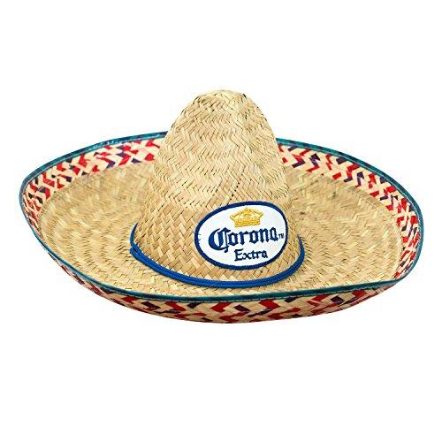 Corona Costume (Corona Extra Straw Sombrero)