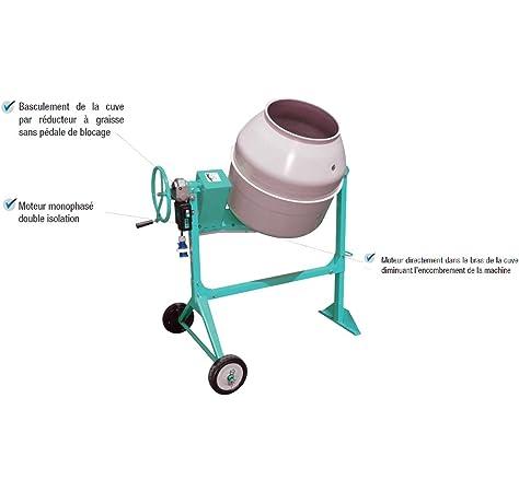 HORMIGONERA UMACON UL-140 DE 145 LITROS (CORONA NORMAL, MOTOR ELECTRICO): Amazon.es: Bricolaje y herramientas