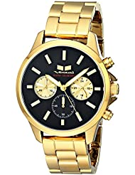 Vestal Unisex HEI3CM01 Heirloom Chrono Analog Display Analog Quartz Gold Watch