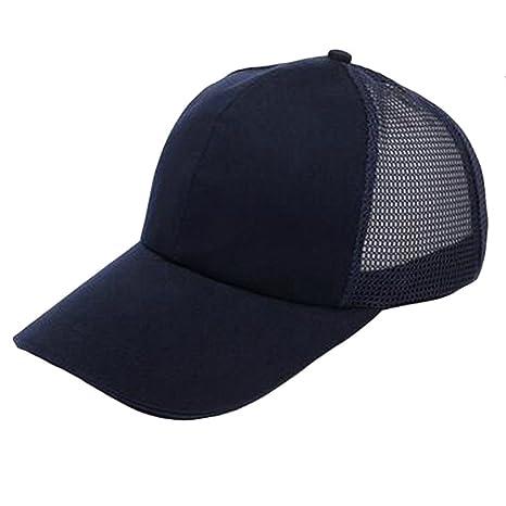Outflower Gorra de Béisbol del Sombrero del sol Sombrero Verano Primavera gasa Transpirable de Color Sólido wsgapUmFln