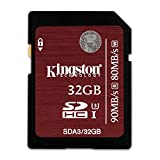 Kingston Digital 32GB SDHC UHS-I Speed Class 3 - Best Reviews Guide