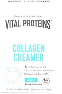 product image for Vital Proteins, Collagen Creamer Coconut Packet Box, 14 Count