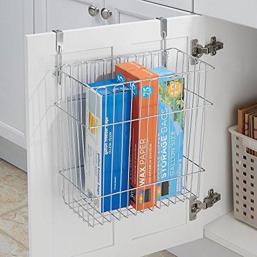 mDesign Cabinet Wastebasket Storage Kitchen