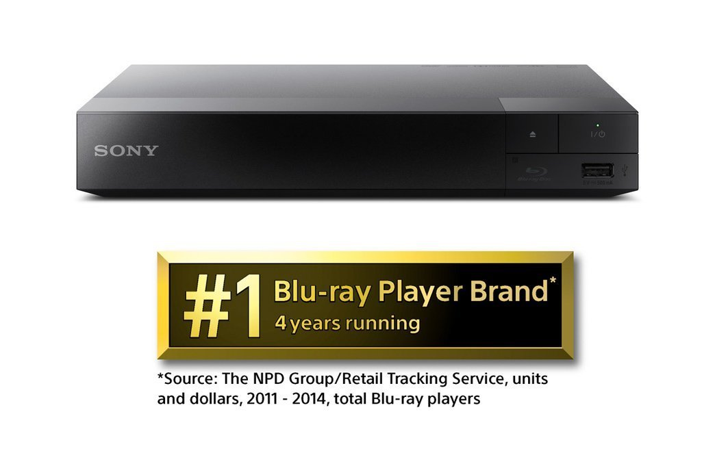 Sony BDPS1500 Wired Blu-ray Player 2015 Model - (Renewed) by Sony