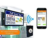 HuddleFly WiFi Digital Signage Media Player. Control via iPhone or Web. Play PowerPoint, Facebook, Google Calendar, YouTube, Websites, Weather, News, Stocks & Pix/Videos. Great Support/No Monthly Fees: more info