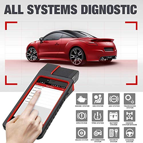 LAUNCH X431 DIAGUN IV WiFi/Bluetooth OBD2 Scanner Auto Full System Diagnostic Tool Support ECU Coding,Actuation Test,Remote Diagnostic 11 Reset Functions Diagnostic Report - Free Update 2 Years by LAUNCH (Image #3)