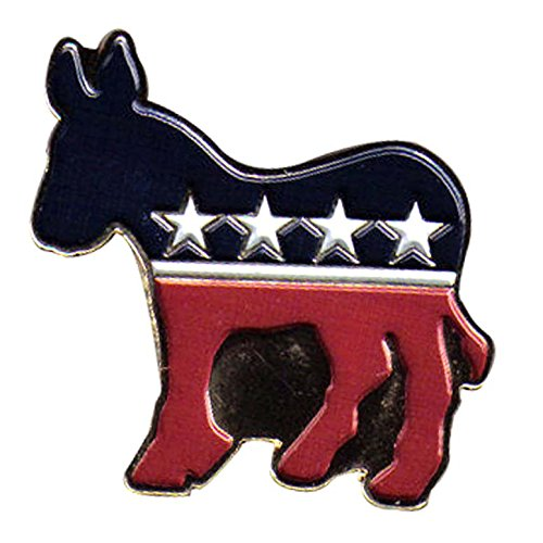 US Flag Store Democrat Lapel Pin
