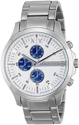 Armani Exchange Men's AX2136  Silver  - 2014 Exchange Armani
