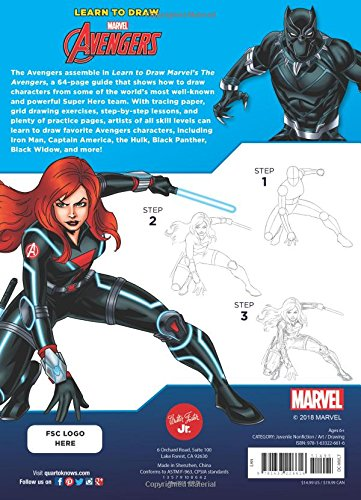 Learn To Draw Marvel Avengers How To Draw Your Favorite
