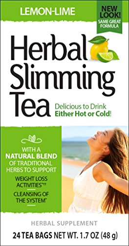 (21st Century Slimming Tea, Lemon Lime, 24 Count)