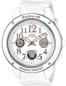 Casio Baby-G Female White Analogue/Digital Watch BGA-150EF-7B BGA-150EF-7BDR