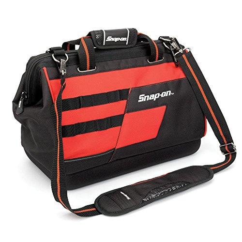 Snap-On 870109 16-Inch Wide Mouth Tool Bag - Wide Mouth Tool Organizer