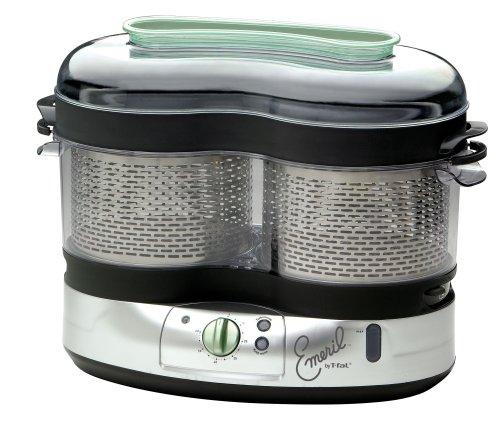 Emeril by T-fal VS4001 9.5-Liter 1500-watt Steamer, - Emerilware Steamer