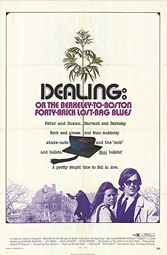 "Dealing or the Berkeley to Boston Forty Brick Lost Bag Blues - Authentic Original 27"" x 41"" Folded Movie Poster by..."
