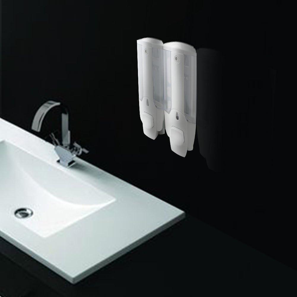 Surenhap Sistema dispensador de Ducha de dise/ño Modular de jab/ón//champ/ú//loci/ón Curves Luxury 1 pcs