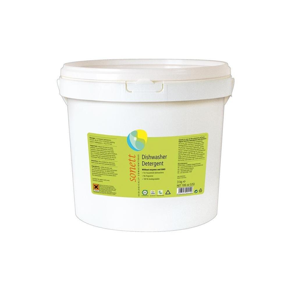 Greenfibres - Sonett lavavajillas detergente, 3 kg: Amazon ...