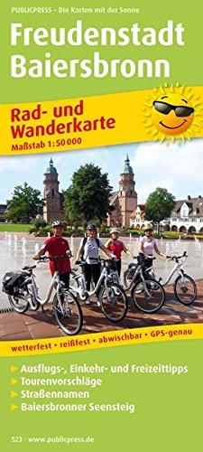 freudenstadt-baiersbronn-rad-und-wanderkarte-mit-ausflugszielen-einkehr-freizeittipps-wetterfest-reissfest-abwischbar-gps-genau-1-50000-rad-und-wanderkarte-ruwk