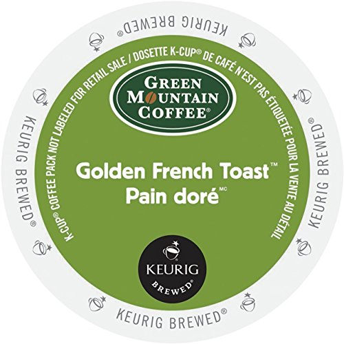 Green Mountain Coffee Golden French Toast Coffee Keurig K-Cups, 18 deem