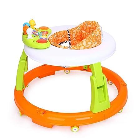 MINISU Infantil Andador Plegable para bebés, Ajustable en ...
